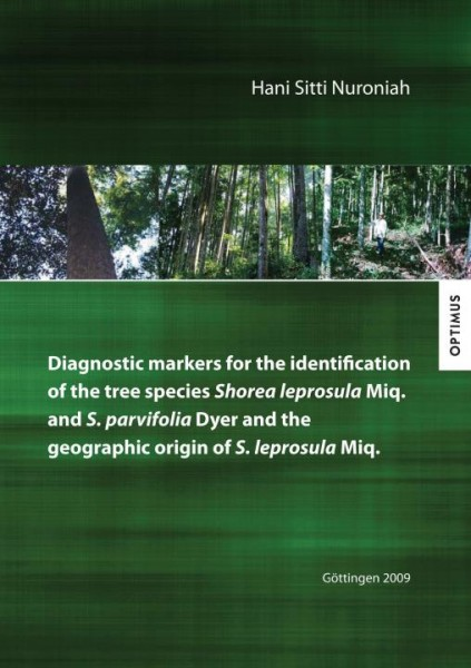 Diagnostic markers for the identification of the tree species Shorea leprosula Miq. and S. parvifoli
