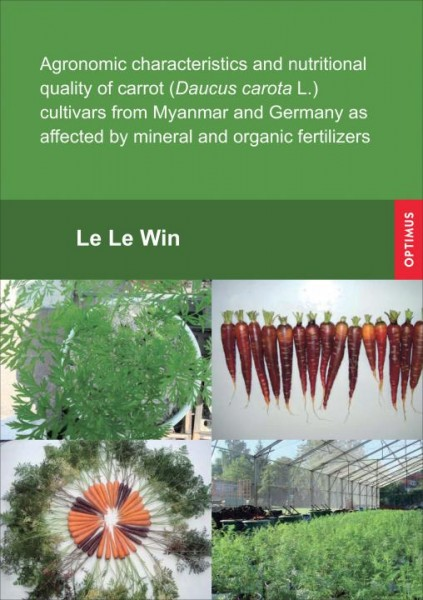 Agronomic characteristics and nutritional quality of carrot (Daucus carota L.) cultivars from Myanma